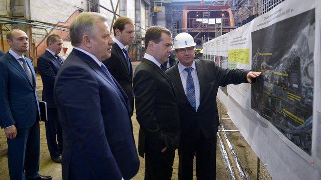 Посещение ОАО «Хабаровский судостроительный завод»