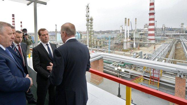 Посещение ОАО «Хабаровский нефтеперерабатывающий завод»