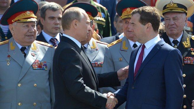 С Президентом России Владимиром Путиным