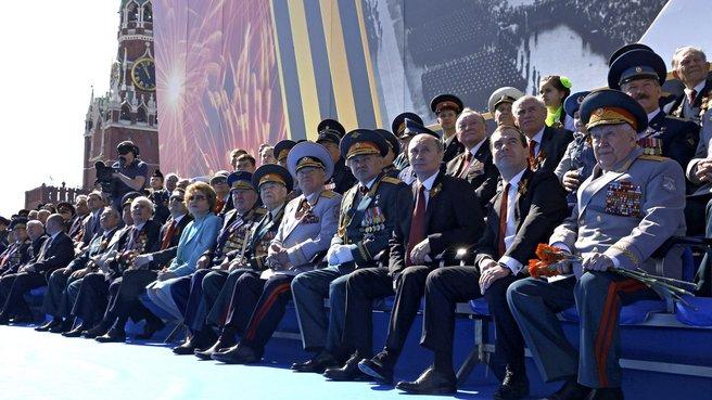 Военный парад в честь 69-й годовщины Победы в Великой Отечественной войне