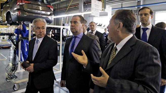 Посещение производственной площадки группы компаний «Автотор»