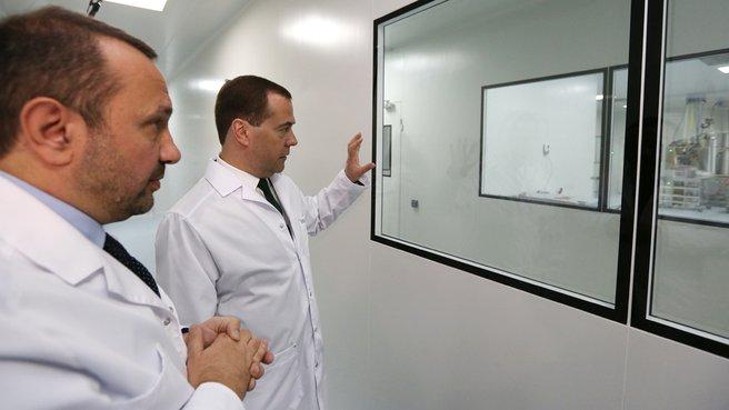 С генеральным директором ЗАО «Биокад» Дмитрием Морозовым