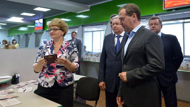 Посещение Управления Федеральной миграционной службы по городу Севастополю