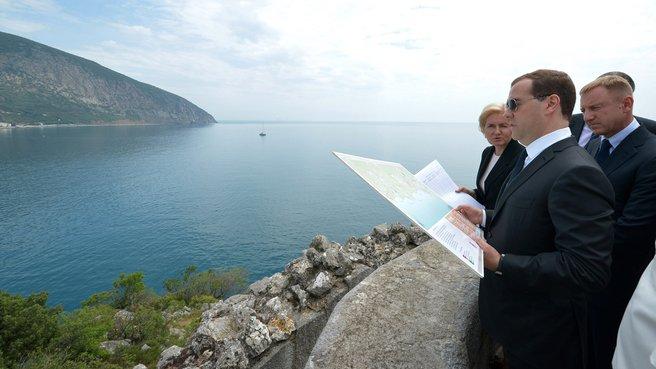 С заместителем Председателя Правительства Ольгой Голодец и главой Минобрнауки Дмитрием Ливановым