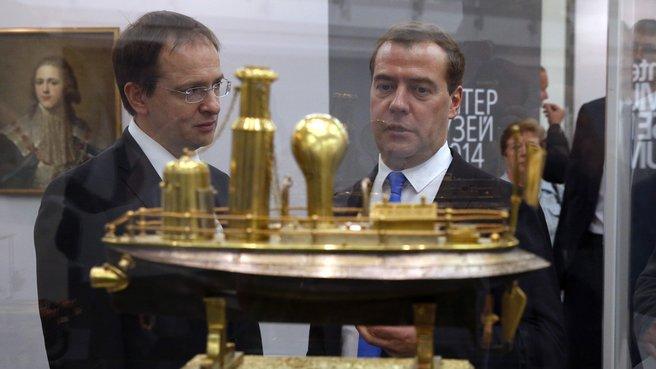 С главой Минкультуры Владимиром Мединским
