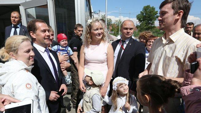 С жителями Челябинска