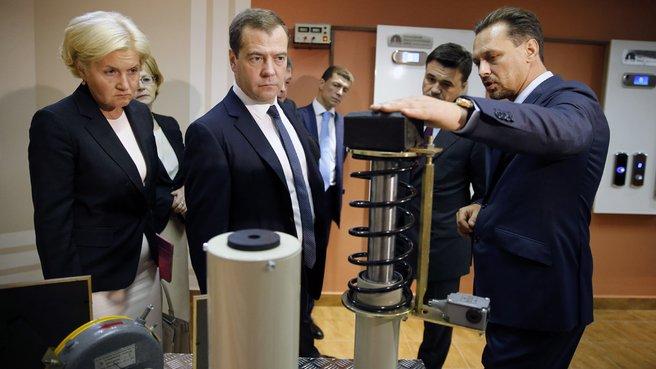 Осмотр Серпуховского лифтостроительного завода