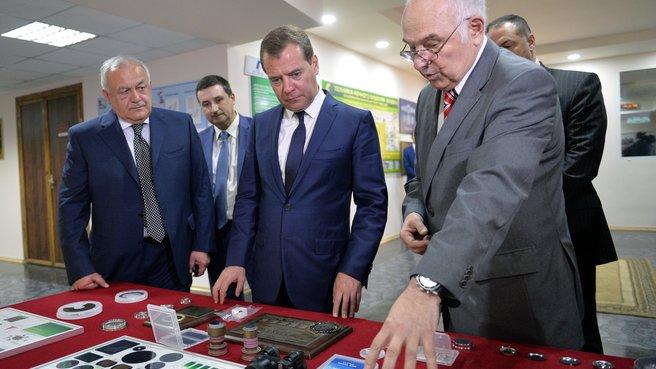 С главой Республики Северная Осетия – Алания Таймуразом Мамсуровым и руководителем центра «Баспик» Сосланом Куловым