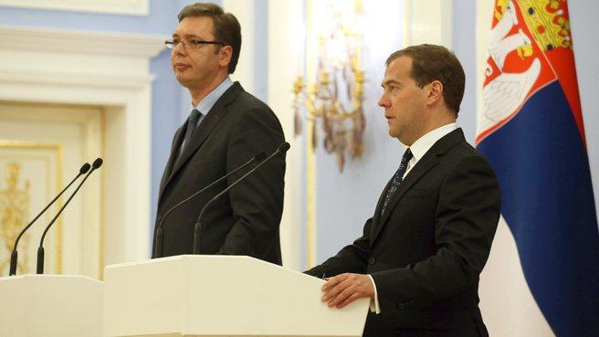 Russian-Serbian talks
