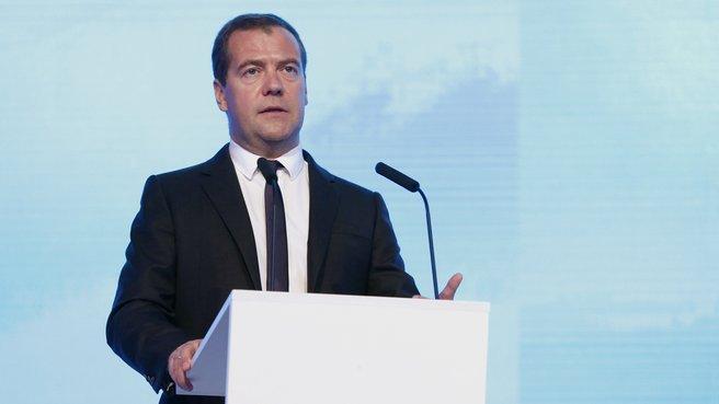 Выступление на пленарном заседании форума «Иннопром-2014»