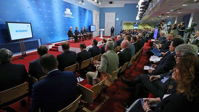 Совещание с торговыми представителями Российской Федерации в иностранных государствах