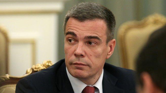 Министр по делам Крыма Олег Савельев