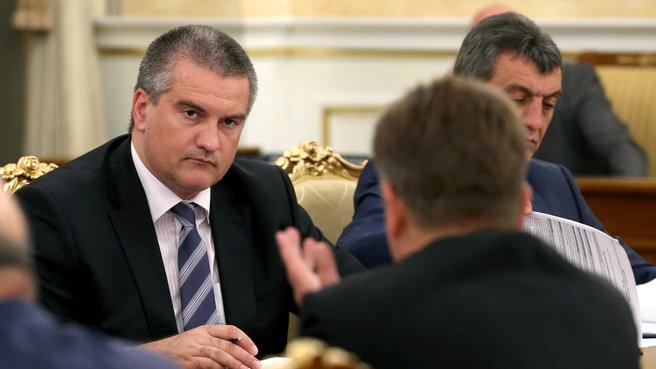 Временно исполняющий обязанности главы Республики Крым Сергей Аксёнов