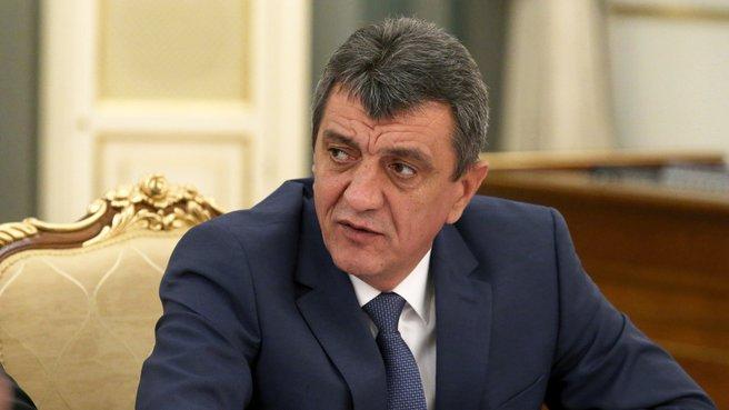 Исполняющий обязанности губернатора Севастополя Сергей Меняйло
