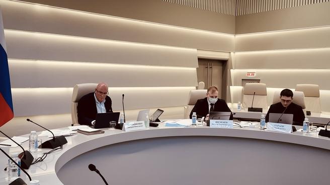 Дмитрий Чернышенко на аттестации проектов руководителей цифровой трансформации федеральных ведомств