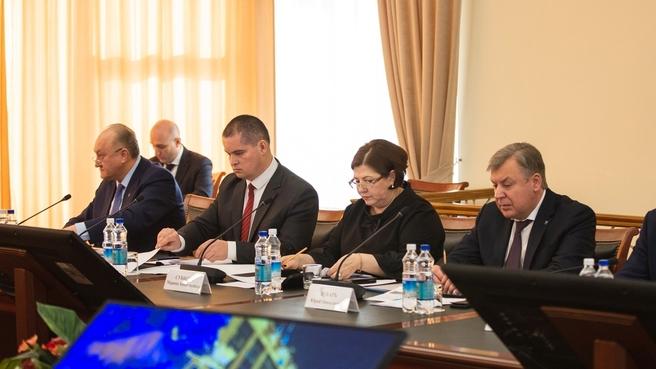 Совещание по вопросам развития ТОР «Камчатка»