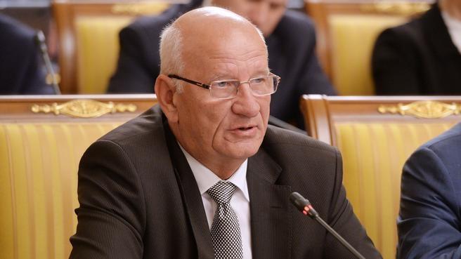 Временно исполняющий обязанности губернатора Оренбургской области Юрий Берг