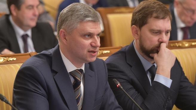 Сообщение президента ОАО «РЖД» Олега Белозёрова на заседании Правительства