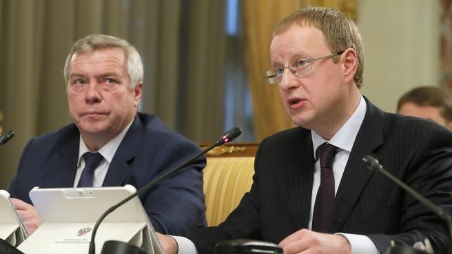 Сообщение губернатора Алтайского края Виктора Томенко на заседании Правительства