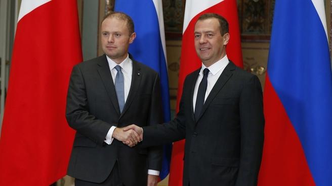 Беседа с Премьер-министром Республики Мальта Джозефом Мускатом