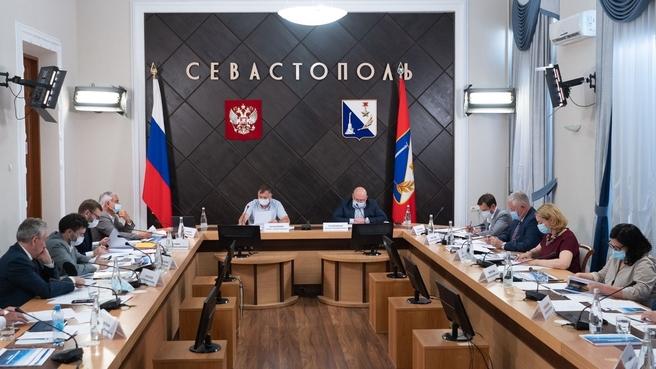 Марат Хуснуллин провёл совещание по социально-экономическому развитию Севастополя