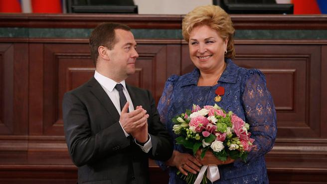 С первым заместителем Министра финансов Российской Федерации Татьяной Нестеренко