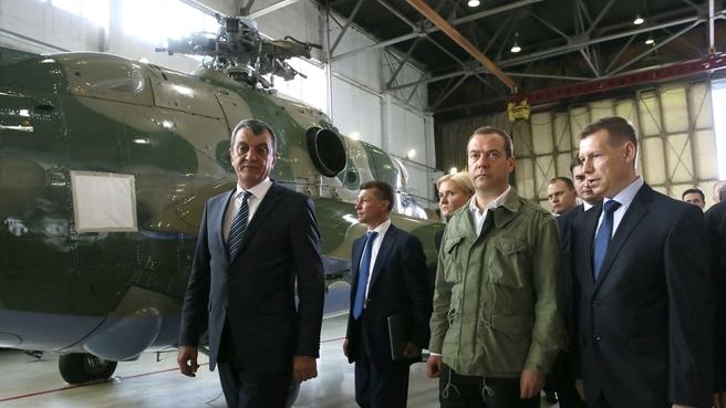 Посещение АО «810-й авиационный ремонтный завод»