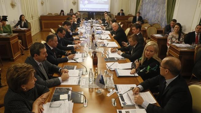 Заседание Попечительского совета Национальной премии «Бизнес-Успех»