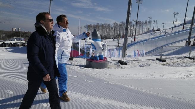 Посещение спортивного кластера «Сопка»