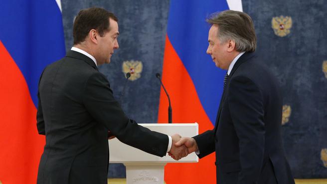 С генеральным директором Московской государственной академической филармонии Алексеем Шалашовым
