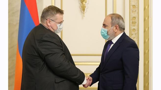 Рабочий визит Алексея Оверчука в Республику Армения