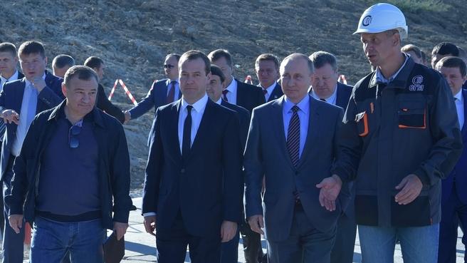 Ознакомление с ходом строительства транспортного перехода через Керченский пролив