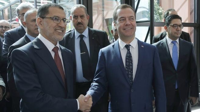 With Prime Minister of Morocco Saad Eddine El Otmani