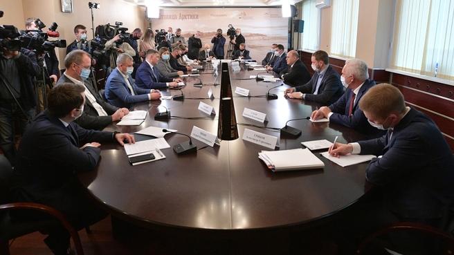 Встреча с инвесторами Арктической зоны