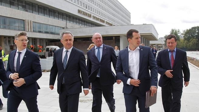 Посещение Московского государственного строительного университета