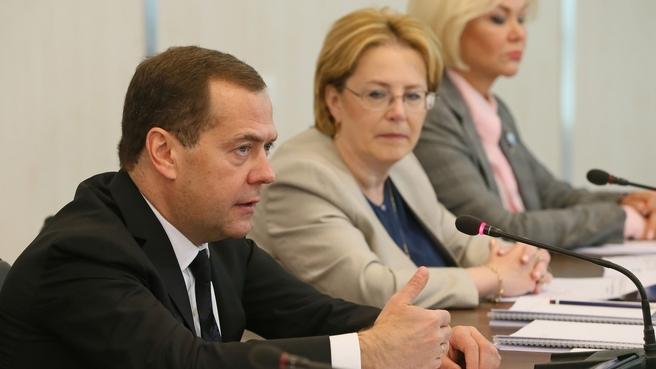 Вступительное слово Дмитрия Медведева на совещании о развитии онкологической помощи