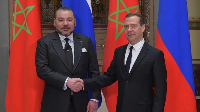 Встреча с Королём Марокко Мухаммедом VI
