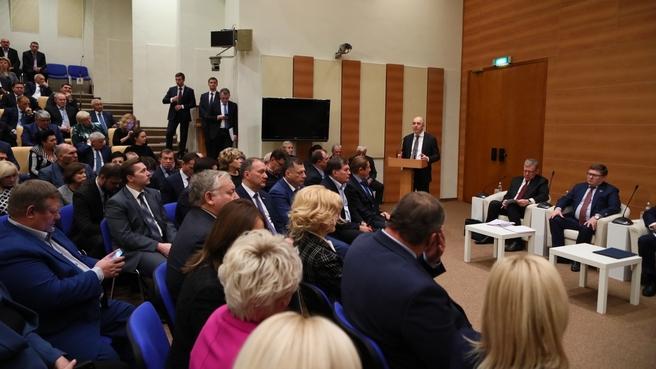Встреча Антона Силуанова с фракцией «Единая Россия» в Государственной Думе