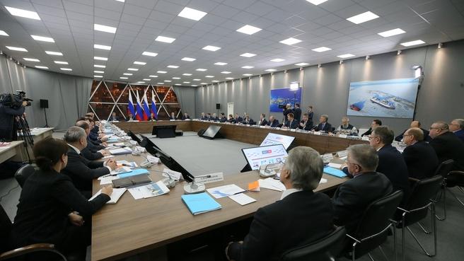 Совещание по вопросам развития Арктики
