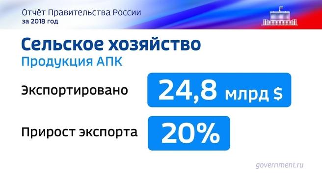 К отчёту о результатах деятельности Правительства России за 2018 год. Слайд 61