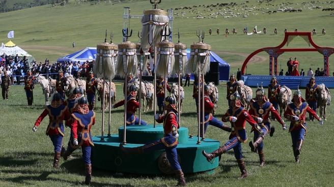 Концерт в рамках фестиваля кочевников «Надом»