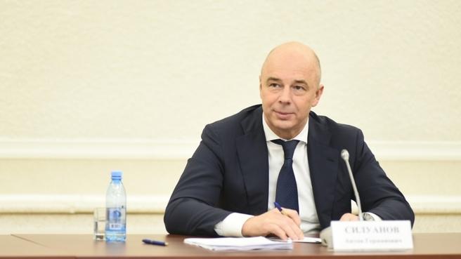 Антон Силуанов на совещании о ходе реализации в Карелии национального проекта «Международная кооперация и экспорт»