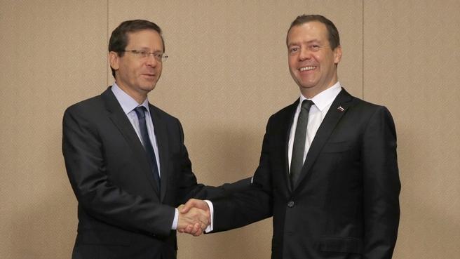 Встреча с лидером оппозиции в Кнессете Ицхаком Герцогом