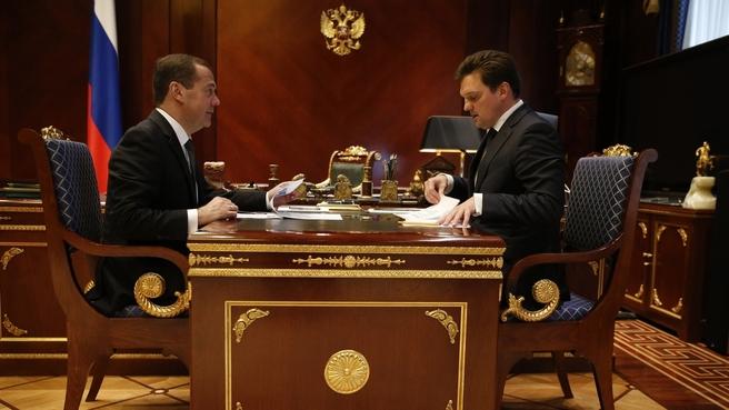 Встреча с генеральным директором «Почты России» Николаем Подгузовым