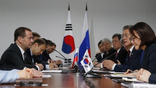Встреча с Президентом Республики Корея Мун Чжэ Ином
