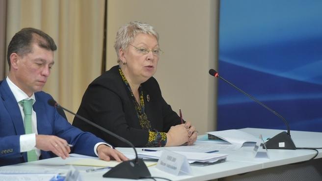 Доклад Ольги Васильевой на совещании о развитии системы дополнительного образования детей