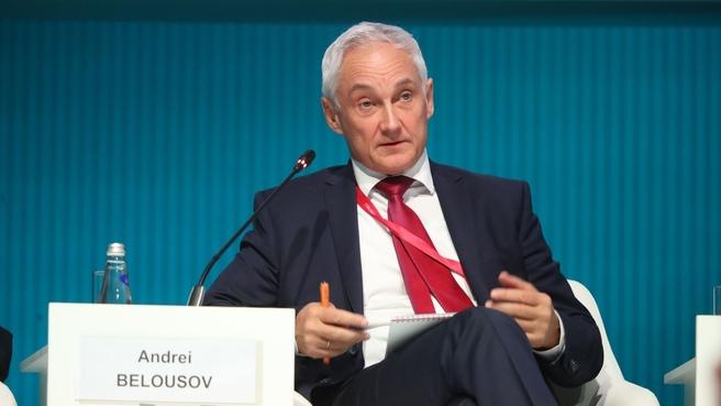 Первый заместитель Председателя Правительства Андрей Белоусов на Петербургском международном экономическом форуме – 2021