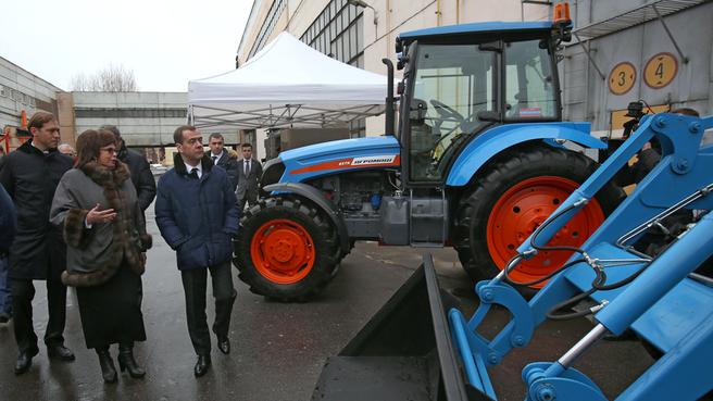 Посещение ЗАО «Петербургский тракторный завод»