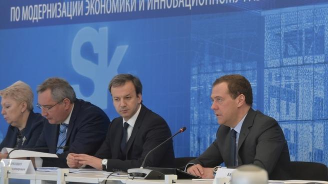 Вступительное слово Дмитрия Медведева на заседании президиума Совета при Президенте Российской Федерации по модернизации экономики и инновационному развитию России