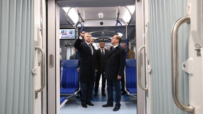 Посещение станции Бекасово-Сортировочное. Осмотр электропоезда «Иволга»